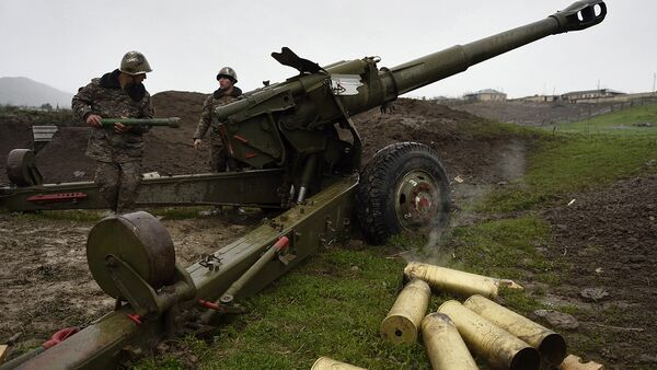 Ситуация в зоне карабахского конфликта - Sputnik Беларусь