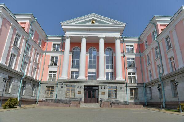 Дом Масквы, дзе размясціўся мультымедыйны прэс-цэнтр Sputnik Беларусь - Sputnik Беларусь