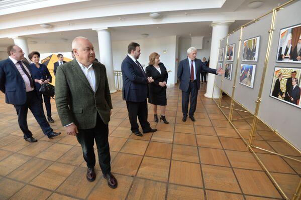 Адкрыццё прэс-цэнтра Sputnik - Sputnik Беларусь