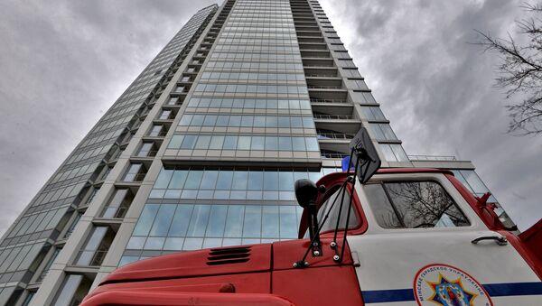 33-этажное здание Роял-Плазы - Sputnik Беларусь