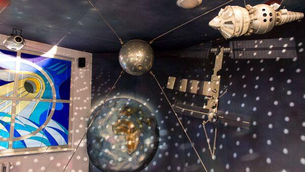 Музей космонавтики в Томашовской средней школе  - Sputnik Беларусь