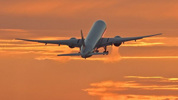 Самалёт Боінг-777 кампаніі Cathay Pacific. Архіўнае фота - Sputnik Беларусь