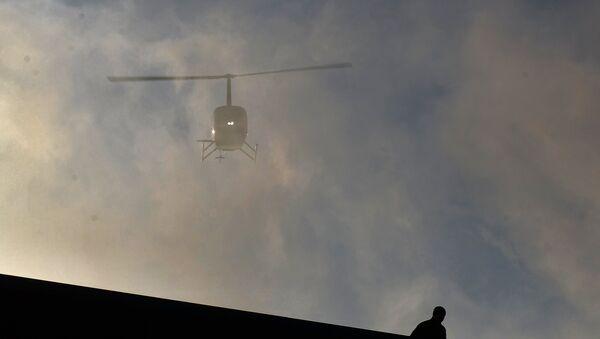 Вертолет Robinson, архивное фото - Sputnik Беларусь