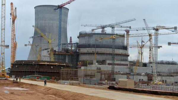Строительство АЭС в Островце - Sputnik Беларусь