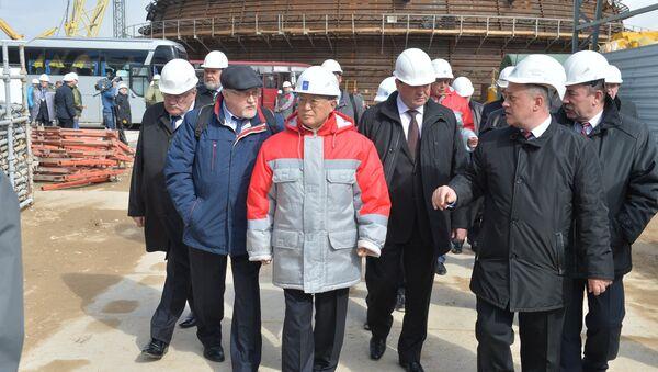 Глава МАГАТЭ посещает строительную площадку БелАЭС в Островце - Sputnik Беларусь