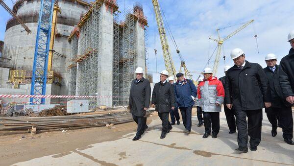 Кіраўнік МАГАТЭ наведвае будаўнічую пляцоўку БелАЭС у Астраўцы - Sputnik Беларусь