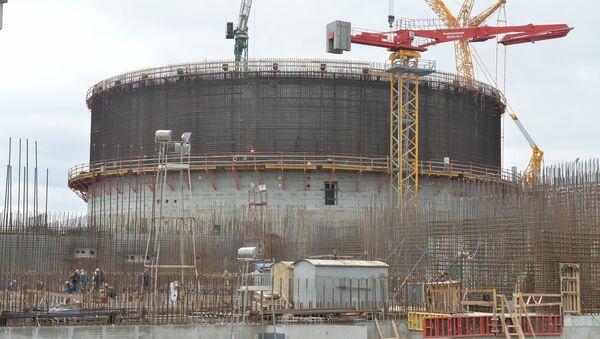 Строительство БелАЭС в Островце - Sputnik Беларусь