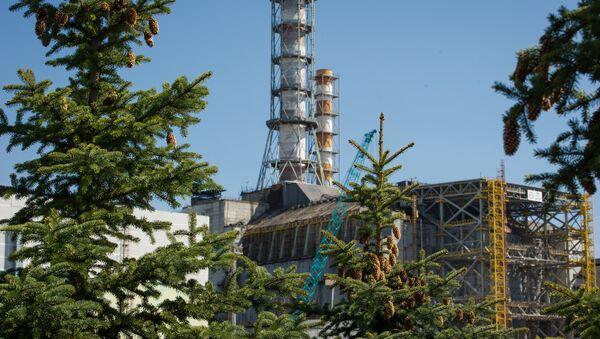 Чацвёрты аварыйны энэргаблок на Чарнобыльскай АЭС - Sputnik Беларусь
