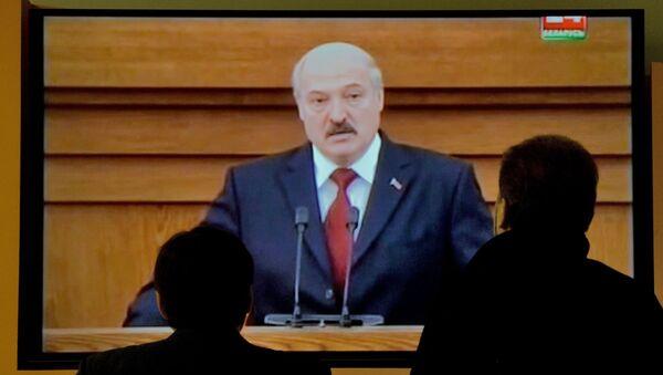 Трансляция из Овального зала Дома правительства - Sputnik Беларусь