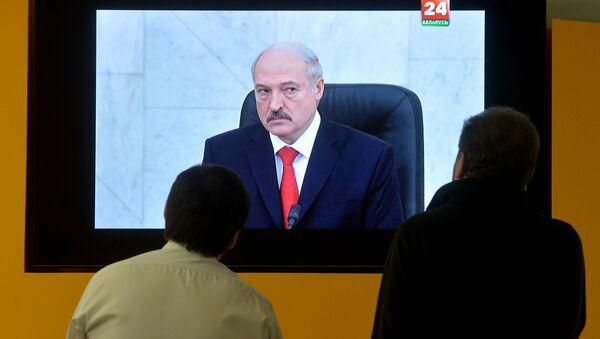 Трансляцыя з Авальнай залі паслання прэзідэнта рэспублікі - Sputnik Беларусь