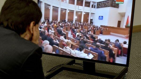 Трансляцыя з Авальнай залы - Sputnik Беларусь