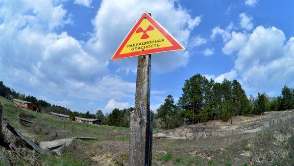 Предупреждающие знаки на территории Полесского государственного радиационно-экологического заповедника - Sputnik Беларусь