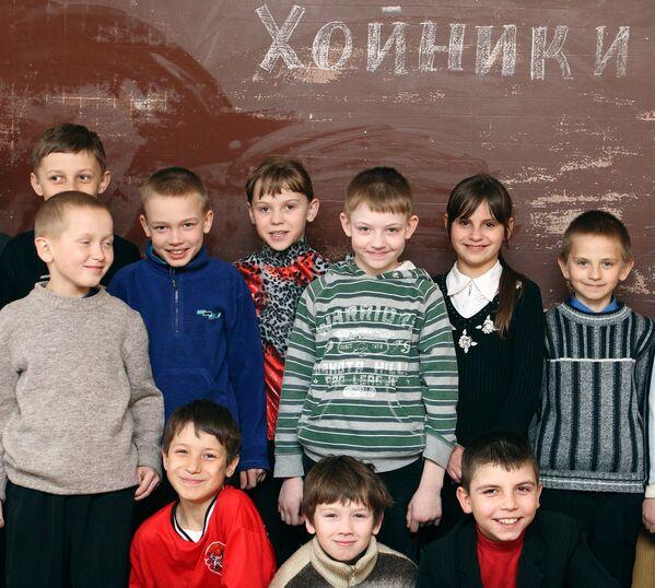 Дети Хойников, фото из архива. - Sputnik Беларусь