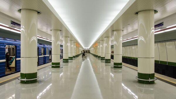 Станция метро Малиновка, архивное фото - Sputnik Беларусь