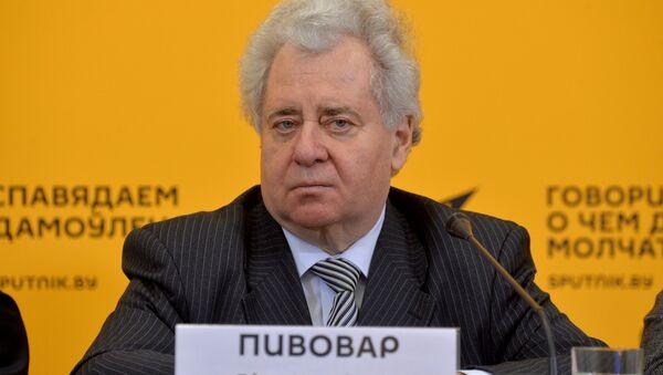 Президент Российского государственного гуманитарного университета Ефим Пивовар - Sputnik Беларусь