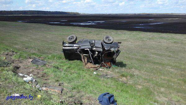 Аварыя ў Лідскім раёне - Sputnik Беларусь