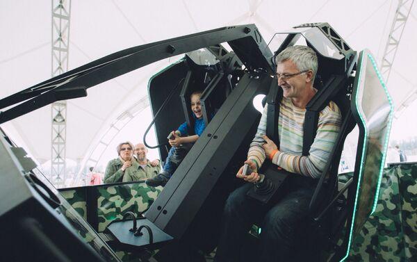 Зрители при помощи технологии 360° смогли окунуться в события Второй мировой войны - Sputnik Беларусь