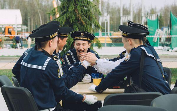 Победу одержала команда Do6LecTb, представляющая Архангельский морской кадетский корпус - Sputnik Беларусь