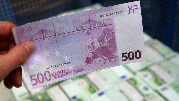 ЕЦБ решил прекратить выпуск банкнот достоинством 500 евро - Sputnik Беларусь