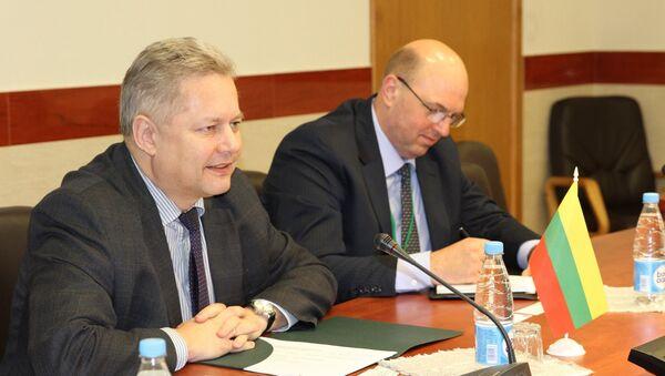 Посол Литвы в Беларуси Эвалдас Игнатавичюс - Sputnik Беларусь