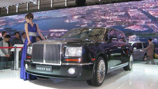 Автомобиль Geely - Sputnik Беларусь