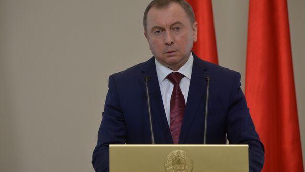 Міністр замежных спраў Беларусі Уладзімір Макей - Sputnik Беларусь