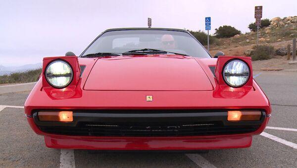 СПУТНИК_Позеленевший Ferrari: как выглядит первый электроспорткар итальянского бренда - Sputnik Беларусь