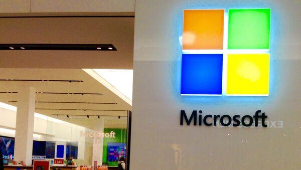 Лагатып кампаніі Microsoft - Sputnik Беларусь