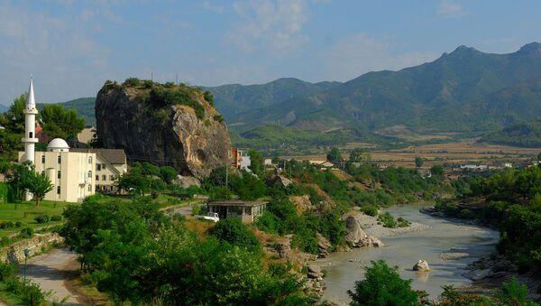 Вид на город Пермети в Албании - Sputnik Беларусь