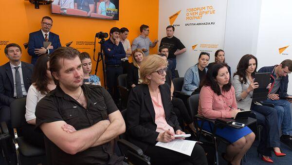 Открытие мультимедийного центра Sputnik Абхазия - Sputnik Беларусь