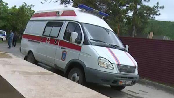 Шесть офицеров ВС РФ погибли в аварии в РЮО, кадры с места события - Sputnik Беларусь