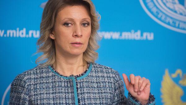 Официальный представитель МИД России М. Захарова - Sputnik Беларусь
