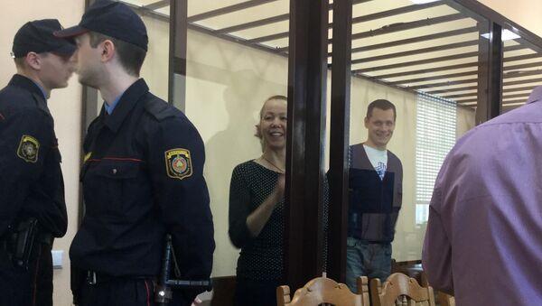 Шарейко в суде накануне прений сторон - Sputnik Беларусь