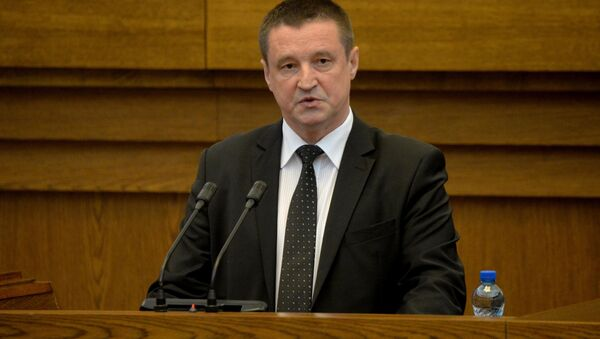 Министр сельского хозяйства и продовольствия Беларуси Леонид Заяц - Sputnik Беларусь