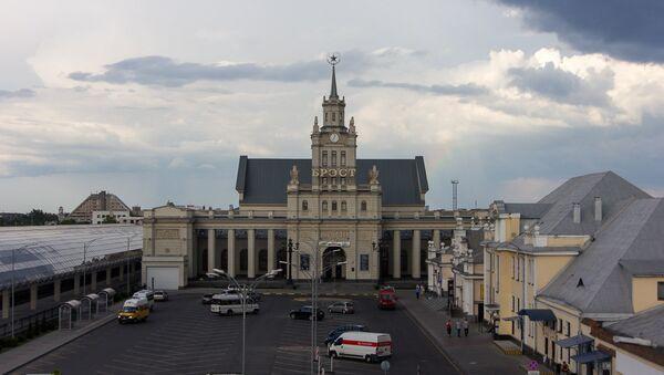 Брэсцкі вакзал - сапраўдны помнік архітэктуры, у траўні мінулага года яму споўнілася 130 гадоў - Sputnik Беларусь