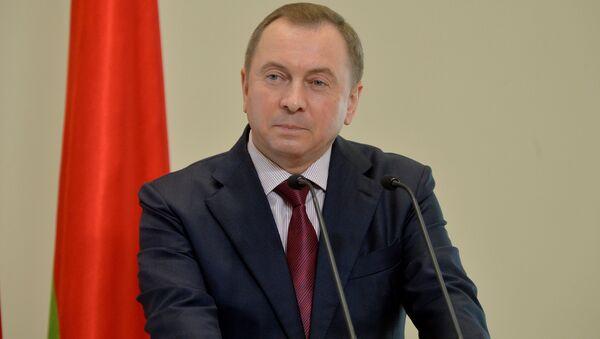 Министр иностранных дел Беларуси Владимир Макей - Sputnik Беларусь