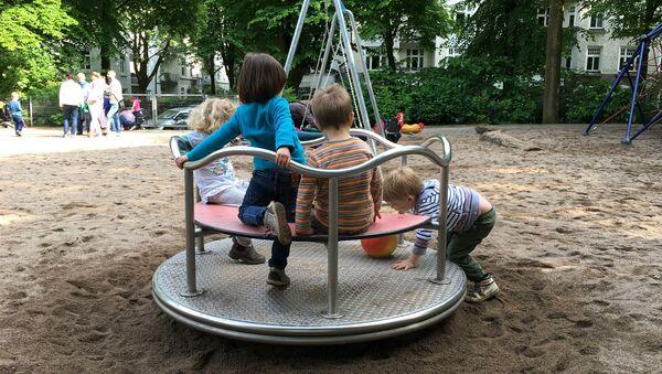 Детская площадка в Германии - Sputnik Беларусь