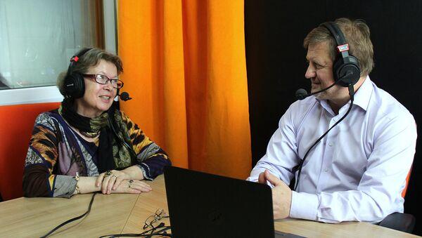 Ольга Зиновьева и Владимир Лепехин на радио Sputnik Беларусь - Sputnik Беларусь