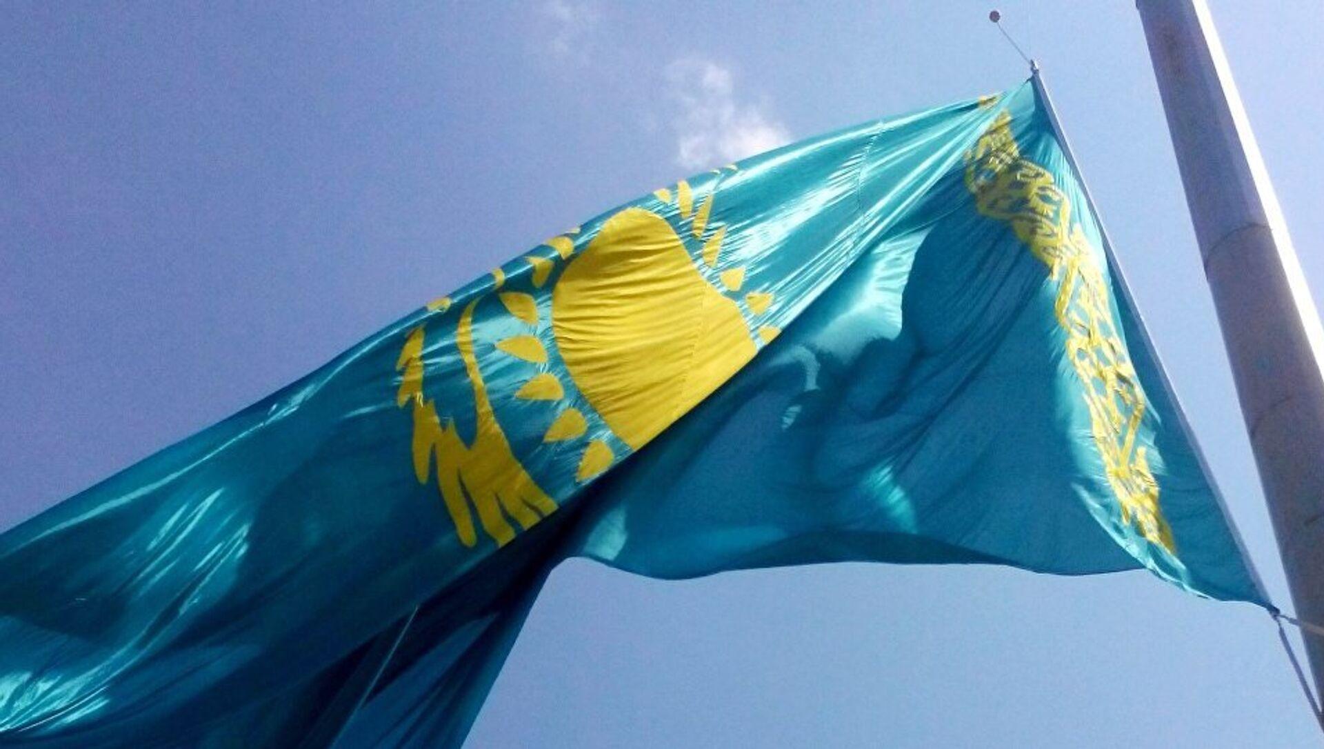 Флаг Казахстана - Sputnik Беларусь, 1920, 05.06.2021
