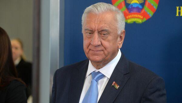 Председатель Совета республики Национального собрания Беларуси Михаил Мясникович - Sputnik Беларусь