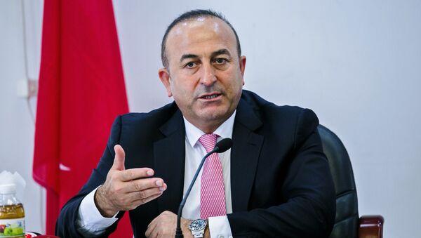 Министр иностранных дел Турции Мевлют Чавушоглу - Sputnik Беларусь