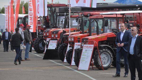 Трактора производства МТЗ на выставке Белагро - Sputnik Беларусь