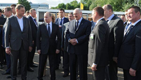 Визит президента РФ В. Путина в Беларусь - Sputnik Беларусь