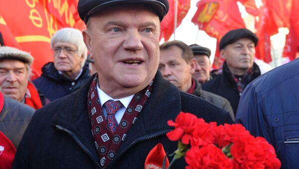 Председатель КПРФ Геннадий Зюганов - Sputnik Беларусь