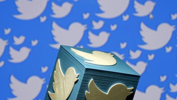 Лагатып кампаніі Twitter - Sputnik Беларусь