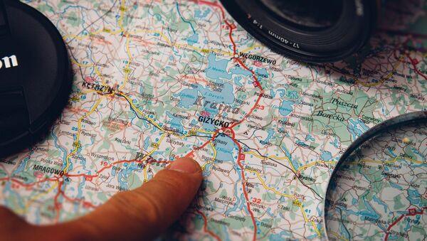 Планаванне падарожжа, карта Польшчы - Sputnik Беларусь