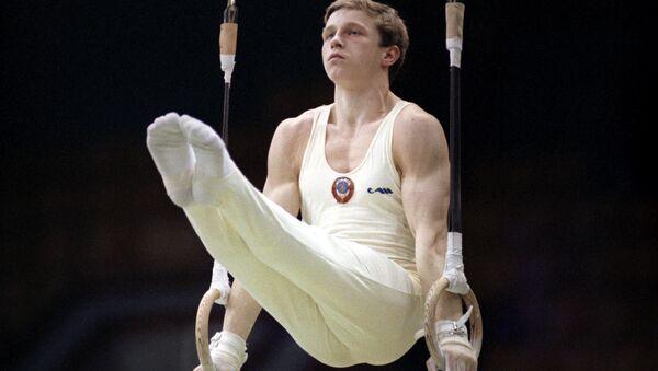 Гимнаст Виталий Щербо, 1991 год - Sputnik Беларусь