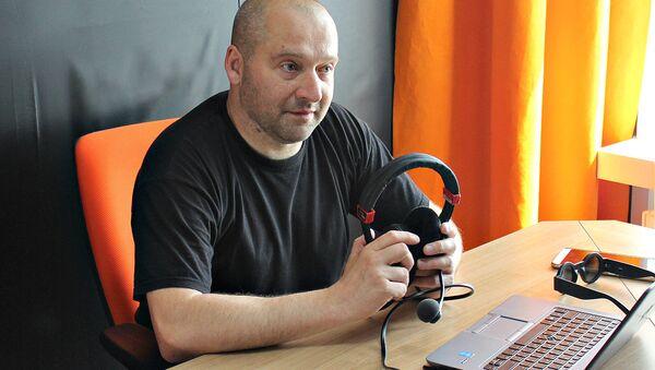 Лидер группы Drum Ecstasy Филипп Чмырь на радио Sputnik Беларусь - Sputnik Беларусь