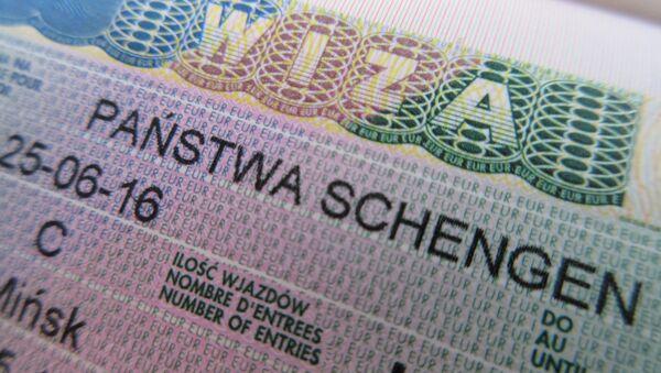Шенгенская виза - Sputnik Беларусь