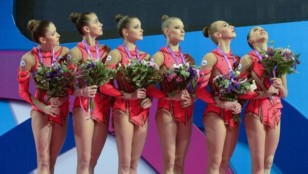 Юниорская сборная Беларуси по художественной гимнастике - Sputnik Беларусь